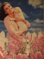 PUBLICITÉ 1994 ESTÉE LAUDER PLEASURES - ADVERTISING