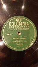 FRANCE 78 rpm RECORD Columbia CHARLES TRENET Biguine a Bango / Annie - Anna