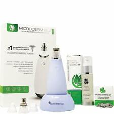 Microderm Glo Mini Premium Skincare Bundle Anti Aging Treatment Diamond Tip