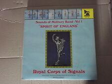 ROYAL CORPS OF SIGNALS BAND - SPIRIT OF ENGLAND LP