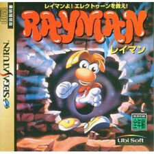 USED Sega Saturn RAYMAN JAPAN import Japanese game