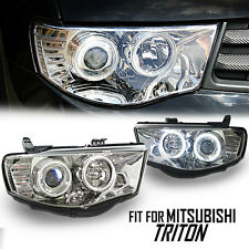Projector Headlight CCFL Clear Len Mitsubishi Triton L200 MN ML 05 06 07 08-14