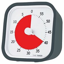 Time Timer Minuteur Gris Taille Unique 5026