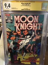 Moon Knight 18 Cgc 9.4 signed SienKiewcz Perfect case shipped in mylar 1982