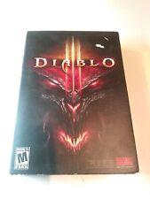 Diablo 3 Box Set Blizzard 2012 Complete Set Game for PC Great Condition