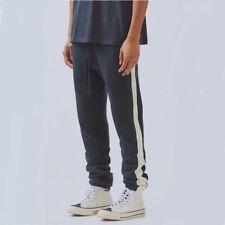 NEW INS FOG Essentials Fear of God Stripe Pants Hip Hop Sweatpant Size S-XL