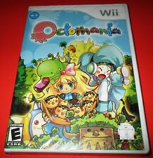 Octomania Wii Factory Sealed!! Free Shipping!!