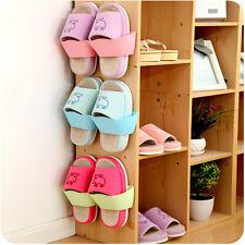 Range-chaussures supports rangement plastique collant pratique qualité universel