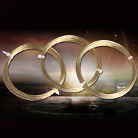 20m Gold Car Vehicle Windscreen Window Glass Cutting Out Braided Removal Wire ss