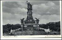 Rüdesheim Rhein Hessen Postkarte 1942 gelaufen Partie am Niederwalddenkmal