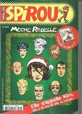 SPIROU N° 3376 - MAGAZINE HEFT - BD COMIC MECHE REBELLE / KIM 25.12.02