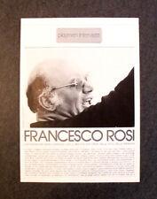 [GCG] AM41 - Clipping-Ritaglio -1978- INTERVISTA CON FRANCESCO ROSI , PLAYBOY