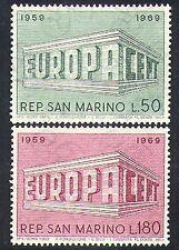 San Marino 1969 Europa/CEPT/Colonnade Design/Animation 2v set (n37026)