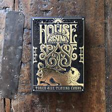 NEW House of the Rising Spade CARTOMANCER playing cardsStockholm17 USA Seller