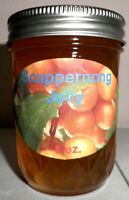 Fresh SCUPPERNONG JELLY 1/2 Pint (8 oz.) Organic, No Chemicals, FREE SHIPPING