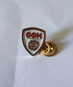 Pin badge anstecknadel MACEDONIA Football Association Federation soccer