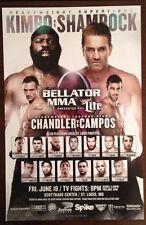 "Kimbo Slice Vs Ken Shamrock Bellator 138 Poster St Louis Mo MMA 11 X 17"""