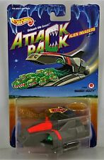 New Hot Wheels Attack Pack Alien Invaders Maggot Mouth Car Sealed