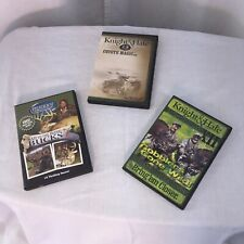 Deer And Turkey Hunting Dvd Lot Of 4