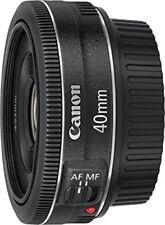 Canon Monofocal Lens Ef40Mm F2.8 Stm Full Size Corresponding