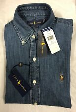 Polo Ralph Lauren Classic Fit Cotton Mens Long Sleeve Shirt XS
