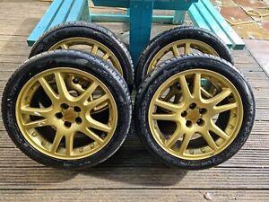 Subaru Impreza STi Wheels w/tyres