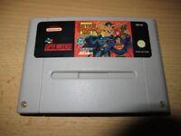 Super Nintendo justice league task force snes game pal