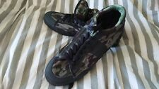 Replay Premium Sneakers Plimsolls Camo Shoes Trainers skate UK9/ 43