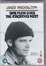 One Flew Over The Cuckoo's Nest - DVD - New + Sealed
