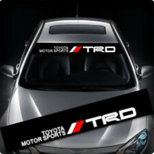 TRD Windows / Windshield Car Sticker Decal FD0057 135x22CM For Toyota