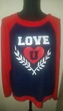 Woman Love Sweatshirt No Boundaries Size Large