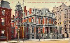 Union League Broad & Sanson Streets Philadelphia Pennsylvania 1911 Postcard