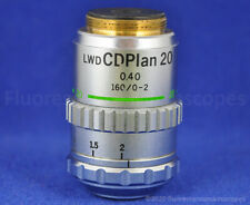Olympus Lwd Cdplan 20x 040 160 Tl 0 2 Inverted Microscope Objective