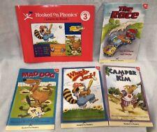 Hooked On Phonics Level 3 Red Reading & Workbook Set Books
