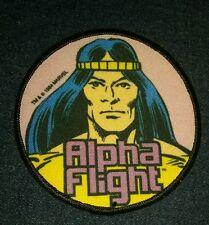 Vintage 1984 Marvel alpha flight talisman Superhero Sew-On Patch new movie