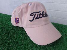 Titleist New York Mets Pink Golf Hat Cap NY MLB Baseball Team Adjustable NEW LTD