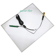 "17inch 4 Wire Resistive Touch Screen Panel USB Kit for 17"" LCD Monitor 355x288mm"