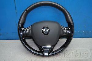 Renault Clio IV Multifunktionslenkrad Airbag Lenkrad Leder 985105453R 622484730A