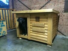 DOG KENNEL FLAT ROOF