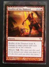 2012 MTG MINT TRADING CARD BONFIRE OF THE DAMNED - SORCERY LLC 129/244