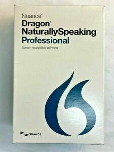 NEW Nuance Dragon NaturallySpeaking Professional 13.0, English