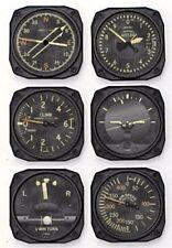 Vintage Airplane Instrument Coaster Set-Pilot Gear