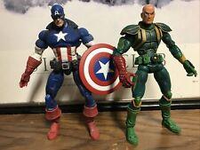 Marvel Legends Face Off Variant Captain America Vs Baron Von Strucker 2006