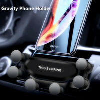 1PC Universal 360° Gravity Car Air Vent Mount Mobile Cell Phone Holder GPS S Z0U