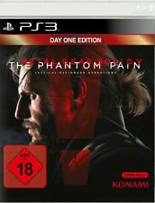 Metal Gear Solid V: the Phantom Pain-Day One Edition ps3 nuevo & OVP