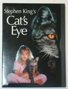 Stephen King's Cat's Eye DVD. 1985 Film Snapcase. Drew Barrymore, James Woods.