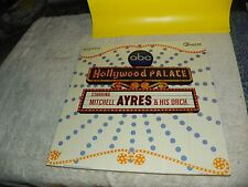 MITCHELL AYRES & ORCHESTRA Hollywood Palace LP Command RS 902 SD GATEFOLD G+/NM