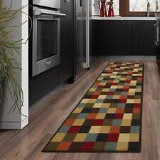 Ottomanson Ottohome Collection Contemporary Checkered Design Modern Runner...