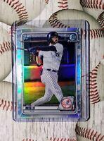 2020 Bowman Draft Chrome Refactor SP 1st Prospect RC AUSTIN WELLS Yankees BD-56