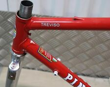 TELAIO FORCA BICI CORSA PINARELLO TREVISO FRAME FORK RACING BIKE VINTAGE MADE IT
